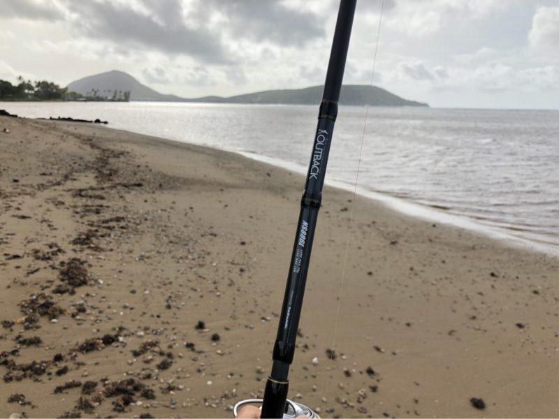 ボーンフィッシュが釣れると聞いてきたカワイクイビーチパーク