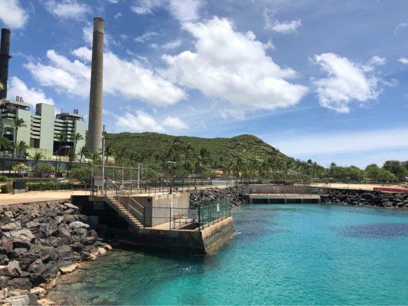 ハワイの発電所