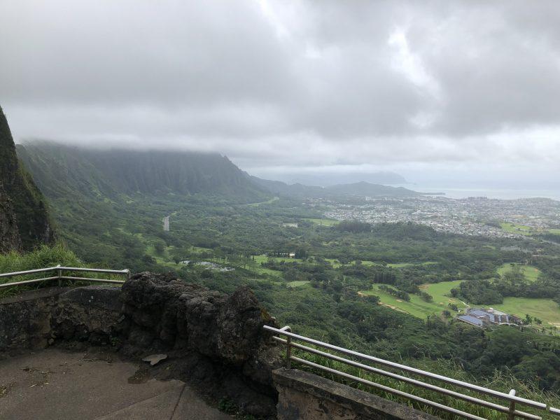 ハワイ展望台から見る景色
