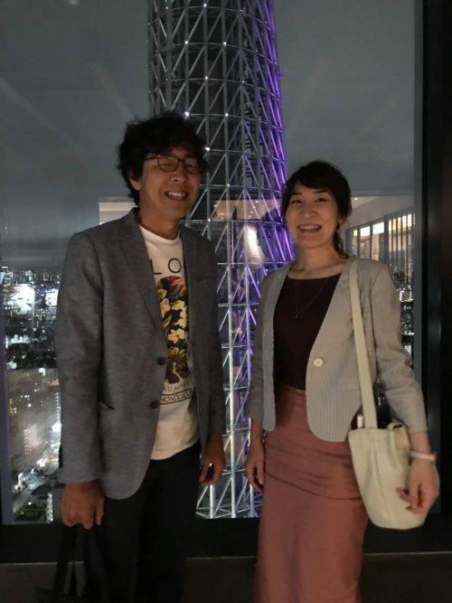 須江と須江嫁2ショット