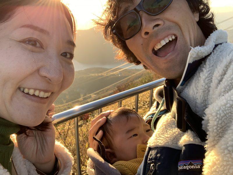 須江家3人家族